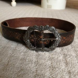 Brown Western Style Belt